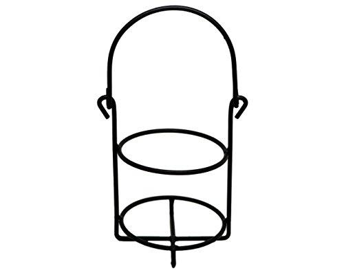 Single Jar Caddy für Quart Mason Jar schwarz Mason Quart Jar
