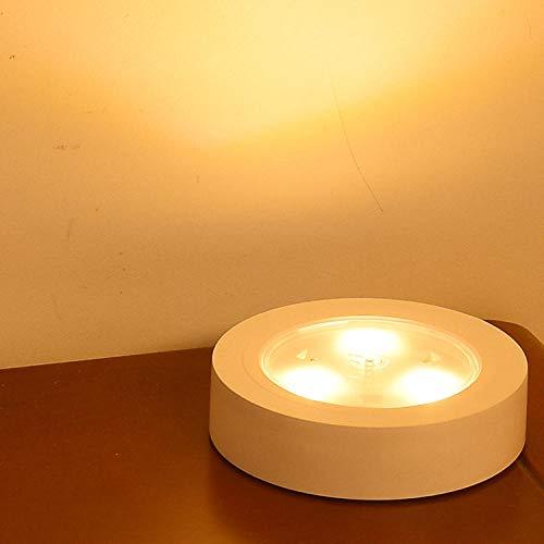 Usb Nachtlicht Lade Energiesparende Mini-Deko-Leuchte Leseleuchte Led-Nachtlicht-Elfenbeinweiß_1.2 [W] -