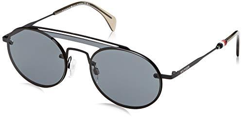 Tommy Hilfiger Unisex-Erwachsene TH 1513/S IR 003 99 Sonnenbrille, Schwarz (Black/Grey),