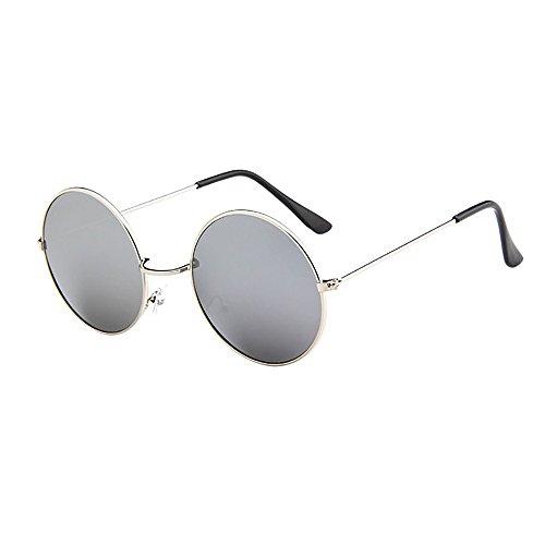Btruely Sonnenbrille Herren Damen Polarisierte Sonnenbrille Round Männer Frauen Fahrbrille 2018 Neue Vintage Mirrored Unisex Treibenden Gläser Sportbrille Outdoor Sonnenbrillen Mode Glasse (G)