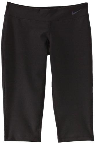 Nike Mädchen Oberbekleidung Ya Legend Tights Capri, schwarz, M, 522087-010