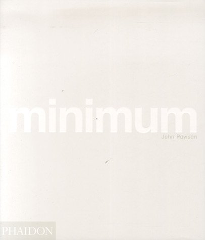 Minimum (Ancien prix éditeur : 39,95 euros) par John Pawson