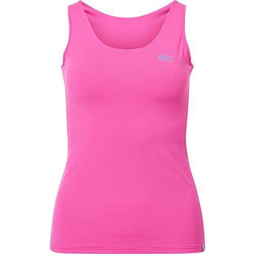 SPORTKIND Débardeur de Tennis Fitness Running pour Filles et Femmes f3d1df59817