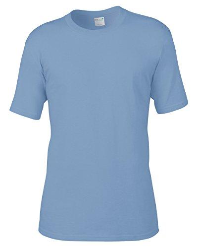 anvil Herren Organic Cotton T-Shirt / 420 Blau (River Blue)