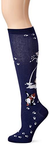 K-Bell Neuheit Knie Hohe Socken, Mehrfarbig, 40,64x 8,89x 1, 27cm