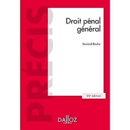 Droit pénal général - 25e éd.