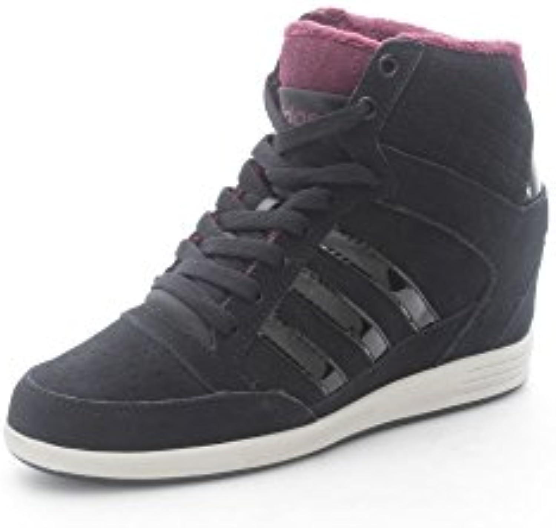 Adidas Neo SUPER WEDGE scarpe scarpe scarpe da ginnastica nero scarpe donna F98650 | Superficie facile da pulire  f728ba