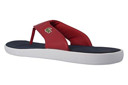 LACOSTE - L.30 216 - Herren Zehentrenner - Rot Schuhe in Übergrößen Rot