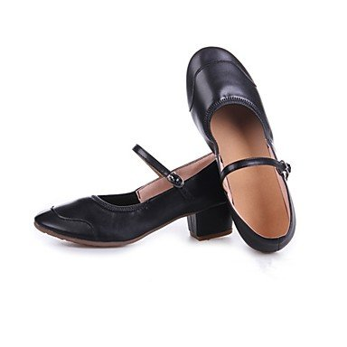 Wuyulunbi @ Talon Féminin Chunky Heel Extérieure Rouge Noir Fuchsia Us5 / Eu35 / Uk3 / Cn34