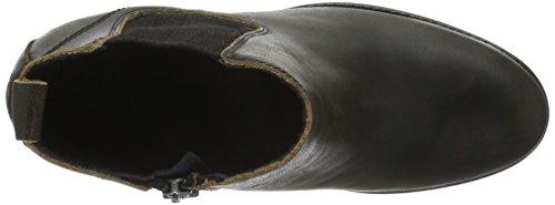 Hilfiger Denim B1385oo 1a, Bottes Classiques femme Noir - Noir (990)