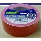 Ultratape Rhino 00435050RERH Red Gaffer Gaffa Waterdicht Multipurpose Duct Doek Tape 50mm x 50m
