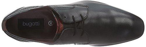 Bugatti 312101021000 Herren Derby Schnürhalbschuhe Schwarz (schwarz 1000)