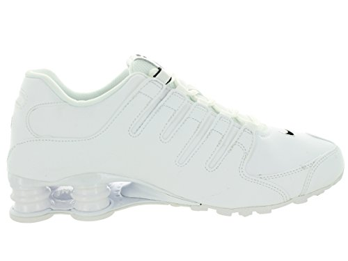 Shox NZ Scarpe da corsa in pelle White Black