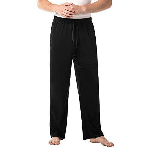 LAPASA Herren Einfarbige Schlafanzughose Pyjamahose Lang Nachtwäsche im Lässigen Stil Winter M23 MEHRWEG -