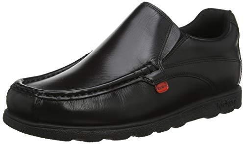 Kickers Fragma15 Slip Mto Lthr Am, Mocasines para Hombre, Negro (Black), 47 EU