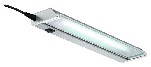 Lampe LED meuble bas luminaire Ajax Silvergrey pivotante 90cm
