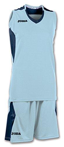 Joma Set Space Woman Basketball Set hellblau-dunkelblau Damen hellblau-dunkelblau, XL (42)
