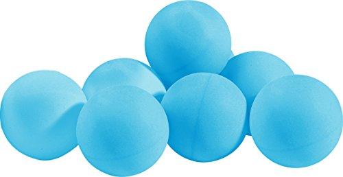 blau - Plastikball VERFÜGBAR AB JUNI 2016 TT-Trainingsball sunflex COLOUR, blau, 144 Stk., Plastikball 40+, unbedruckt, lose verpackt.