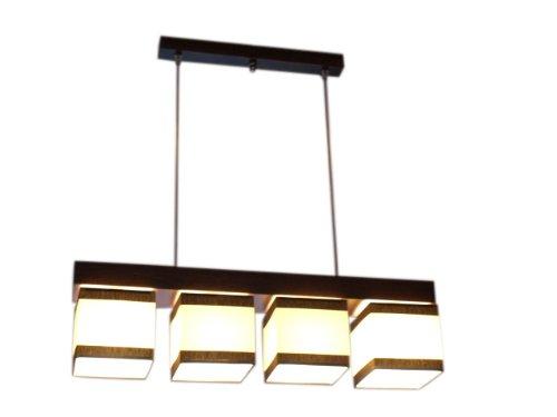 Plafonnier lustre suspension wero-vigo - 011-crème et marron à rayures