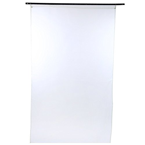 1x 2m Pure Color Sheer Voile Wand Raumteiler Home Decor Bildschirm Gardinen Fashion Mix Schlafzimmer Panel Drapes grün (Drei-panel-bildschirm)