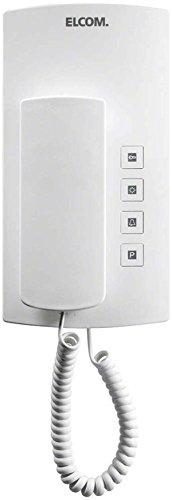 Elcom Audio-Haustelefon BHT-200 WS i2-Bus, Weiß Haustelefon 4250111810869