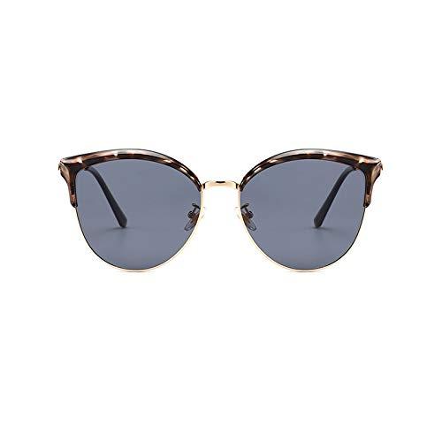 Zeitgenössische Oval Glas (JIGAN Brillengestell mit klaren Gläsern Cosy Composite-Brillen Damen Herren,D)