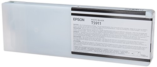 Epson T5911 Cartouche d'encre d'origine 1 x photo noire