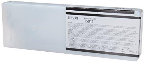 Epson T5911 Tintenpatrone, Singlepack, Foto schwarz