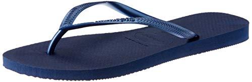 Havaianas Damen Slim\' Zehentrenner, Blau (Navy Blue 0555), 37/38 EU