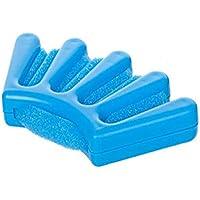 YaptheS plástica creativa de la esponja de la trenzadora del pelo de DIY giro francés trenza de pelo teje Manual de herramienta de la trenza de alimentación herramienta de modelado azul