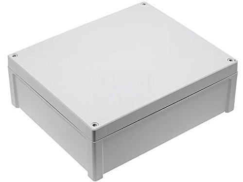 6 Height 10 Width Fibox Enclosures AR12106CHSCT UL Listed Nema 4X Polycarbonate Enclosure with Hinged Transparent Screw Cover 12 Length