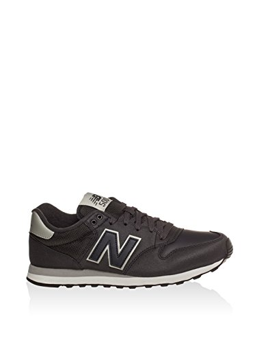 New Balance Sneaker Hommes Running Sport Lifestyle Custom Blanc-Gris-Noir