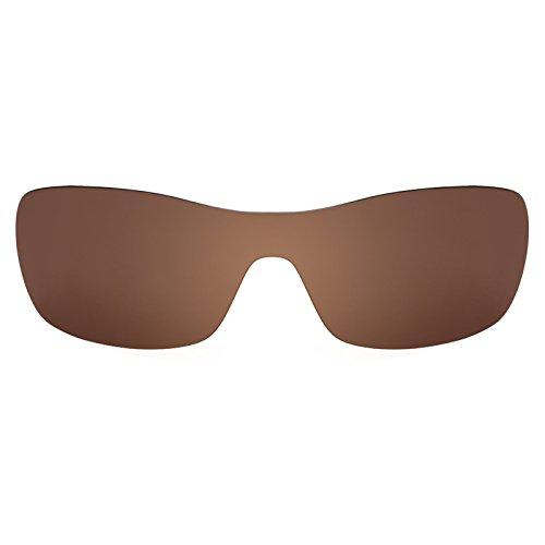 99d03c18655 Revant Polarized Replacement Lens for Oakley Antix Dark Brown