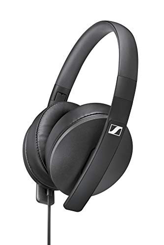 Sennheiser HD 300 Around-Ear Lightweight Foldable Headphones - Black Best Price and Cheapest