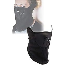 takestop® WS1329 Masque de Protection en néoprène pour Le Visage, Le Cou, Le Sport, Le Ski, la Moto, Le Ski, Le Snowboard Taille Unique Fermeture Velcro
