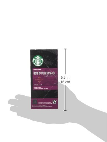 Starbucks Mixed Variety Pack Espresso Capsules Nespresso* Compatible (Pack of 5, Total 50 Capsules)