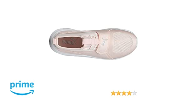 cef9b2ca078f Puma Girl s Phenom Jr Peach Sneakers-3 Kids UK India (19 EU) (19065803)   Buy Online at Low Prices in India - Amazon.in