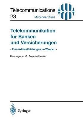 [(Telekommunikation Fur Banken und Versicherungen)] [Edited by G. Ewerdwalbesloh] published on (March, 1996)