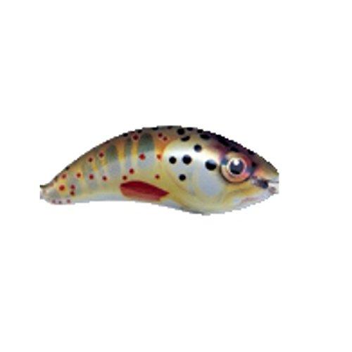 Ugly Duckling Forellen Mini Köder - 2,5cm Wobbler Bachforelle schwimmend