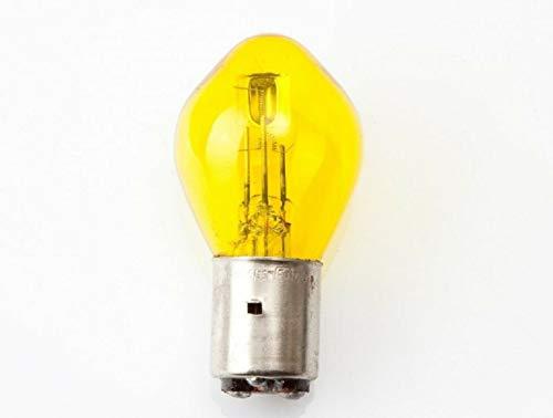 12V 45/40W BA20D BOSCH GELB GLÜHBIRNE LAMPE GLÜHLAMPE AUTOBIRNE SCHEINWERFER MOTORRAD FRONT BIRNE LAMPE AUTO BELEUCHTUNG VINTAGE OLDTIMER RETRO CLASSIC