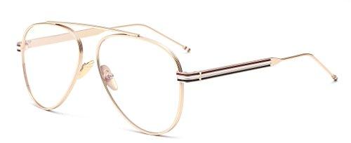 ALWAYSUV - Montura de gafas - para mujer dorado dorado