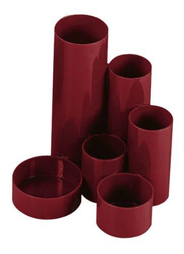 Wedo 245257202 JUNIOR Butler (aus hochwertigem Polystyrol, 6 Röhren) rot