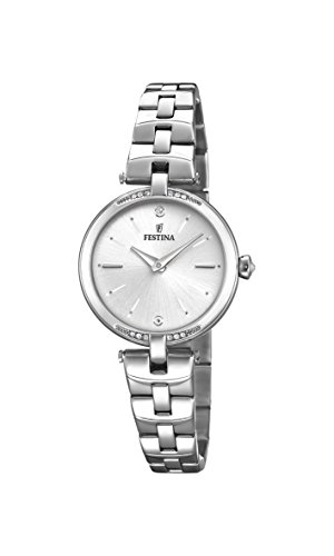 Festina Women's Analogue Quartz Watch with Stainless Steel Strap F20307/1