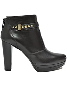 Nero Giardini Polacchini scarpe donna nero 9641 elegante A719641DE