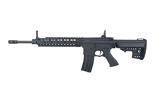 Cyma Airsoft-CM612 Noir M4 URX Nylon Fiber y Metal/Color Negro/Electric (0.5 Joule) - Semi/Full Automatic