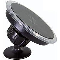 HEMOBLLO Dispositivos de estación de Soporte de Carga Soporte para teléfono móvil Soporte para teléfono móvil Qi Inalámbrico 10W Universal rápido (Negro)