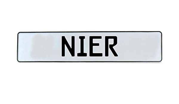Vintage Parts 716594 Wall Art Nier White Stamped Aluminum Street Sign Mancave