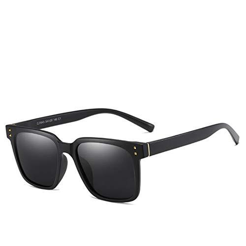 CASEY-L Herren Sonnenbrille, Polarisator Brille Frauen UV-Schutz Leichtes Fahren Korean Classic Wild A