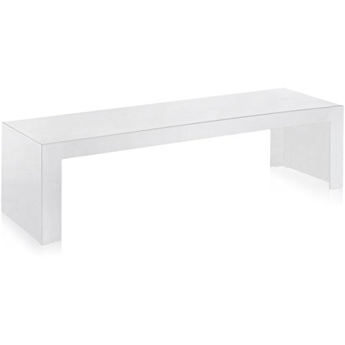 Kartell, Invisible 500, Consolle, Bianco, 40 x 120 x 31 cm