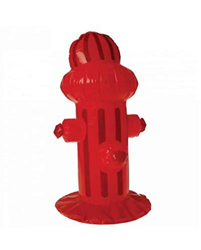 Kostüm Hydrant - Horror-Shop Aufblasbarer Hydrant 50 cm als Partydeko & Kostüm Zubehör